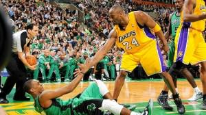 Rajon Rondo i Kobe Bryant