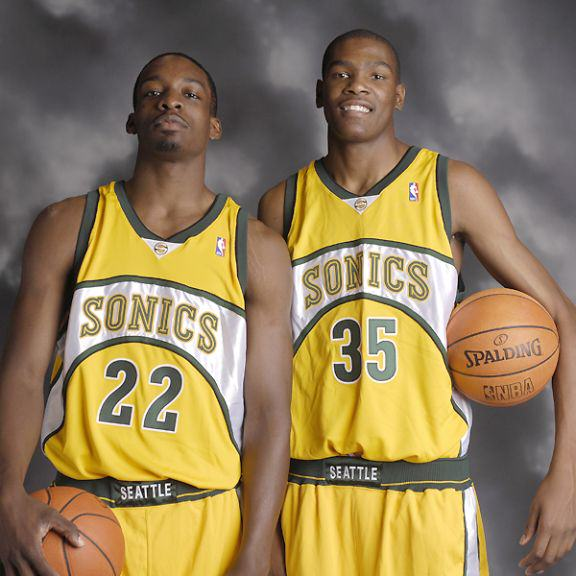 Jeff Green i Kevin Durant